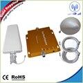 Дом / офис сигнал повторителя комплект GSM 3 г 850/2100 сотовый телефон усилитель сигнала ретранслятор усилитель 65dB полный комплект
