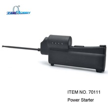 HSP 70111 Handheld Power Starter with Engine Drill Holder Plate Battery and Charger for Vertex 16 18 Sh 21 Nitro