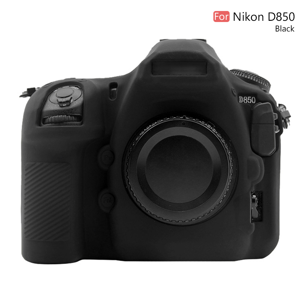 PULUZ Protective Camera Bag For Nikon D850 Digital SLR Camera 4colors Soft Silicone Case Body Protective Cover Durable Washable формочка yu shi home xb6199