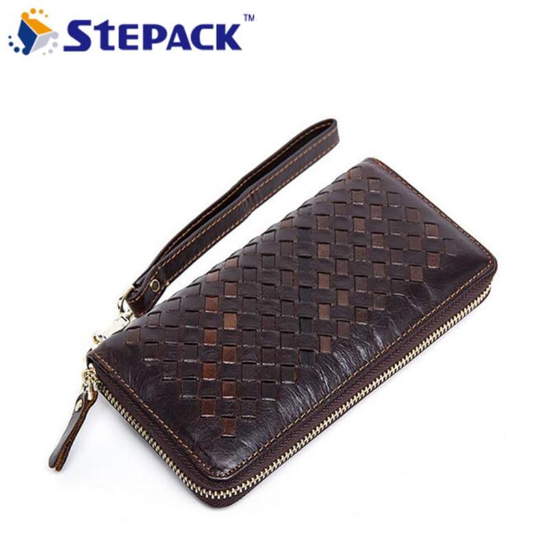 2017 New Arrival Devaluate wallet Genuine Leather Men Wallet Mutil-Card Holders Men Big capacity Billfold Business High Quality