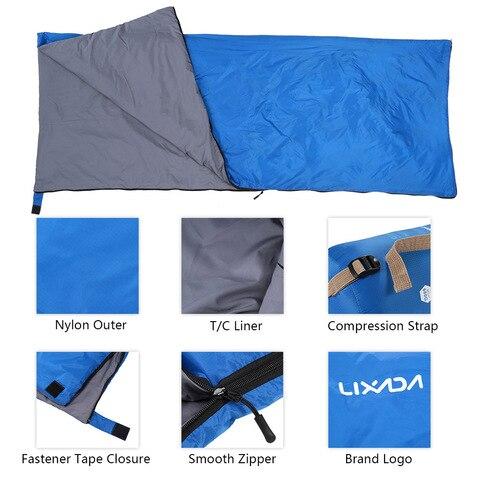 acampamento saco de dormir viagem caminhadas ultra leve