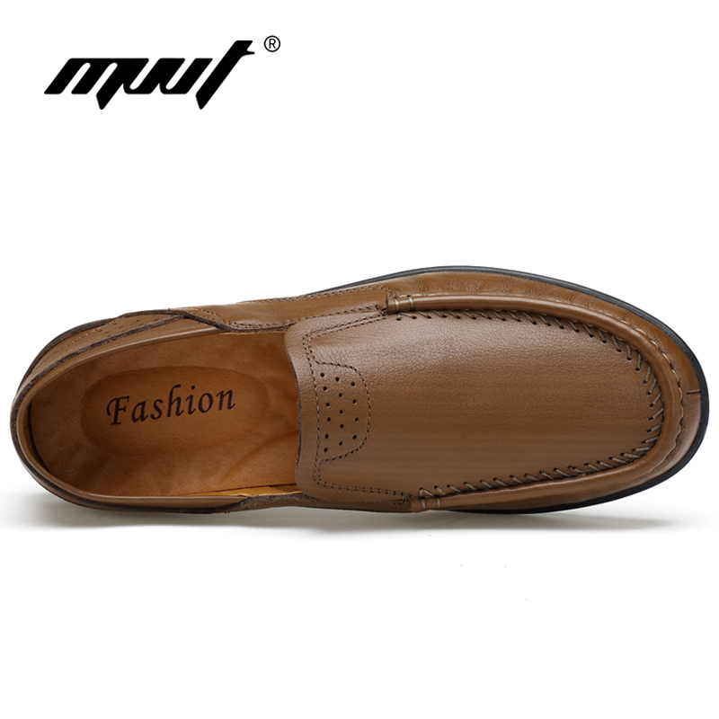 Com Brown Quatro cáqui Sapatas Britânico De Homens Plana Mocassins Couro Sapatos Mvvt Preto Temporadas Dos Calçado Casuais Genuíno Macios red vU4dq