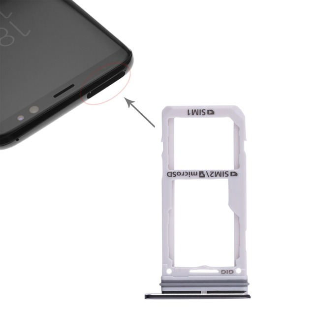 Welche Sd Karte Für S8.Us 1 66 24 Off Ipartsbuy Dual Sim Card Tray Micro Sd Card Tray For Galaxy S8 S8 In Sim Card Adapters From Cellphones Telecommunications On
