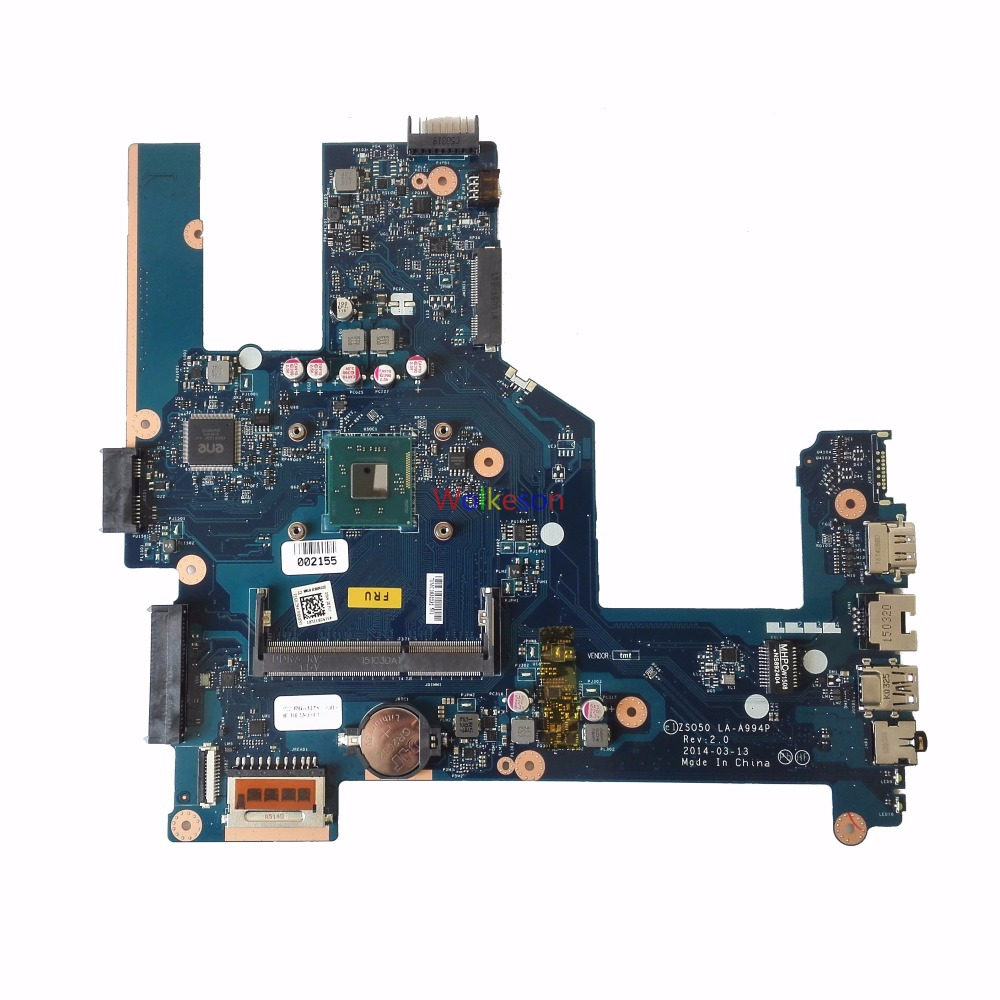 SHELI FOR HP Pavilion 15-R Laptop Motherboard SR1SJ W/ N2815 CPU 759879-501 ZSO50 LA-A994P DDR3 Test Oke