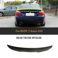 For E60 M5 Car Rear Trunk Spoiler Wing for BMW 5 Series E60 M5 2004 2009 Carbon Fiber Rear Wing Spoiler Boot Lid