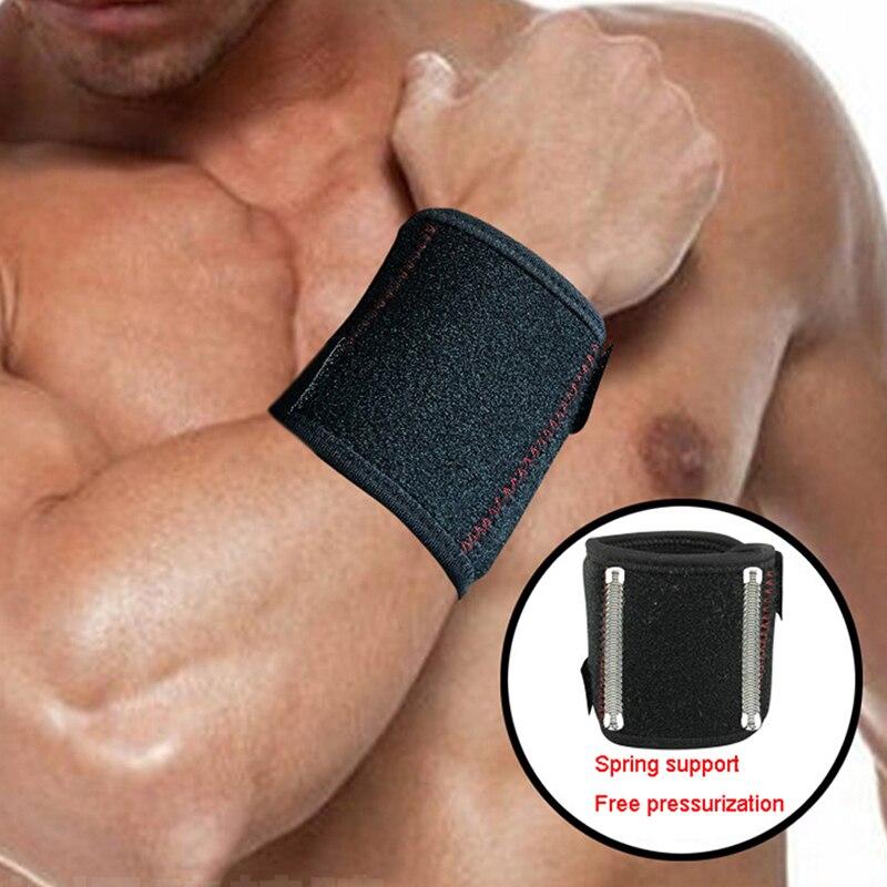 1PCS Adjustable Wrist Support Brace Wristband Men and Women Gym Professional Sports Protection Wrist