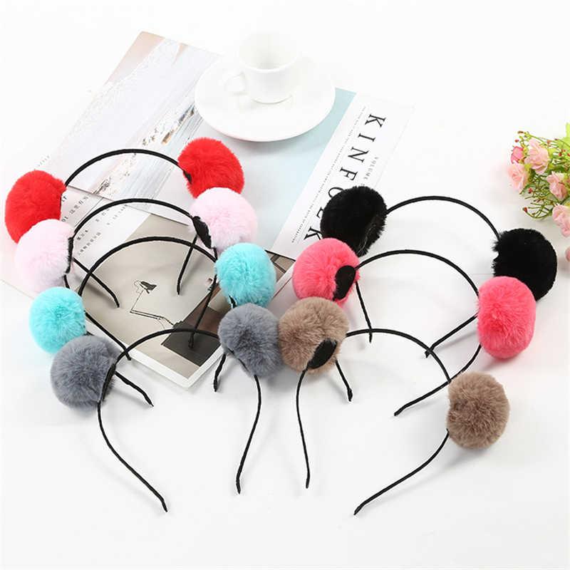 สาวหวานสวย hairband headpieces กระต่ายหูตุ๊กตาใหญ่หัวผม hoop ผมเครื่องมือจัดแต่งทรงผมสำหรับผู้หญิงหญิง