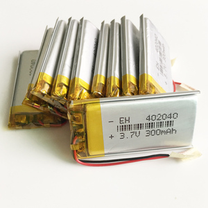 Wholesale 10 pcs 3.7V 300mAh 402040 Lithium Polymer LiPo li ion Rechargeable Battery For Mp3 MP4 MP5 mobile electronic part
