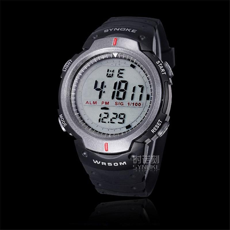 blue shope #4001 Waterproof Outdoor Sports Men Digital LED Quartz Alarm Date Wrist Watch