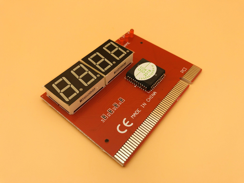 PC Analyzer Test POST Cards Computer PCI POST Card Motherboard LED 4-Digit Diagnostic Plastic Metal High Stability Express Card