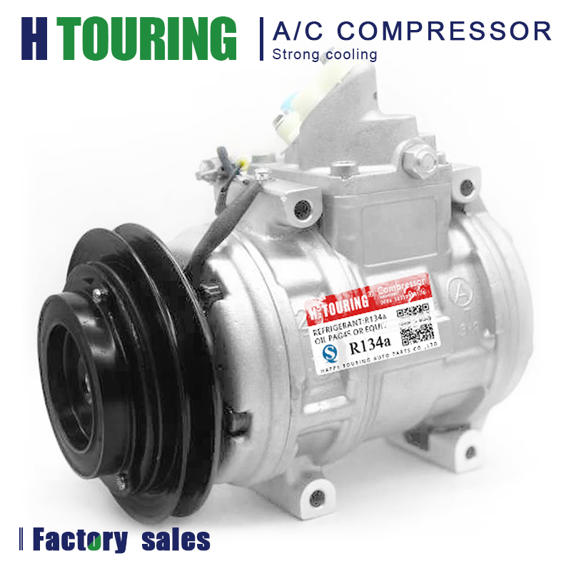 AUTO 10PA17L AC A/C Air Conditioner Compressor for Car TOYOTA LAND CRUISER 4.5 24V FZJ80 1FZFE 1990-1998 8832060580 88320-60580AUTO 10PA17L AC A/C Air Conditioner Compressor for Car TOYOTA LAND CRUISER 4.5 24V FZJ80 1FZFE 1990-1998 8832060580 88320-60580