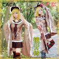 VOCALOID Senbonzakura Kagamine Rin Cosplay Costume Halloween Uniform Outfit Top+Skirt+Eye-patch+Socks+Hat