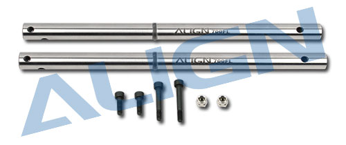 Genuine Align T-REX 700FL Main Shaft Set H70H003XXW Original t-rex <font><b>700</b></font> Spare <font><b>parts</b></font> Free Ship with Tracking image