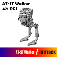 05066 Star Wars Series The AT ST Walker Model Building Blocks Set Classic Compatible With Lego