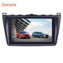 Seicane 9 «2din Bluetooth wifi gps навигация автомобильное радио Android 7,1/Android 8,1 мультимедийный плеер для 2008-2015 Mazda 6 Rui wing