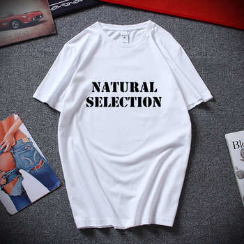 Summer Style Fashion Natural Selection Columbine Men's White Tees Shirt Clothing Short-Sleeve Casual O-Neck T Shirts