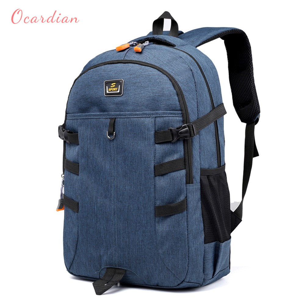 Ocardian Backpacks Unisex Large Capacity Travel School Backpack Women Backpacks Nylon Waterproof Backpack Men Jl 16 #1