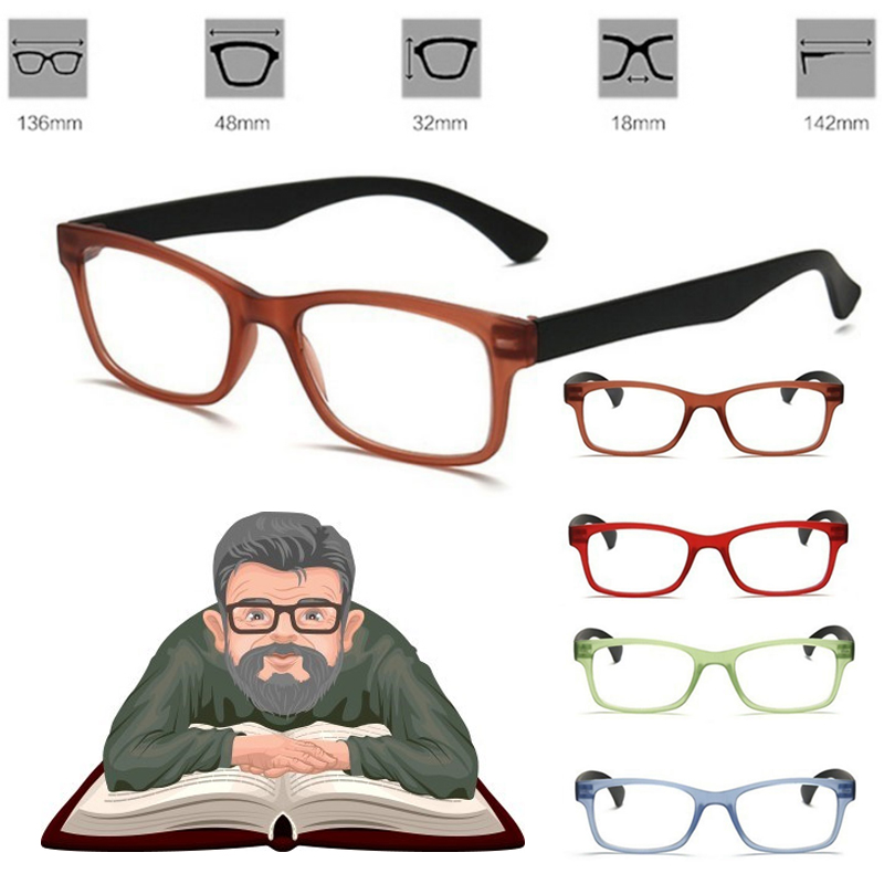 100%-400% Pro Vision Magnifying Glass Unisex Eyewear Magnification For Needle Reading Magnifier Watching Lightweight Glasses