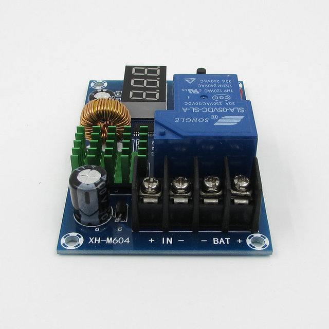 6 60V LED Battery Lithium Battery Charging Control Module For Household Chargers/ Solar Energy /Wind Turbines