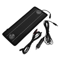 12V 4.5W Sun Cell Sunpower Solar Car Charging Panel Power Portable Battery Charger For Auto Boat Motorcycles wholesale price