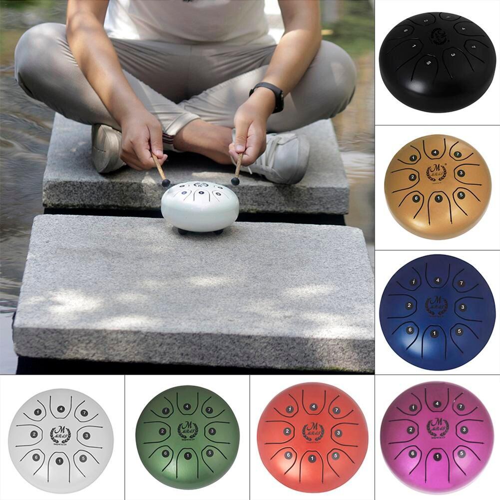 Hot 7colors MMBAT / Mebite 5.5 Inch Mini Steel Tongue Drum Handpan Brahma Tongue Drum Percussion футболка print bar brahma
