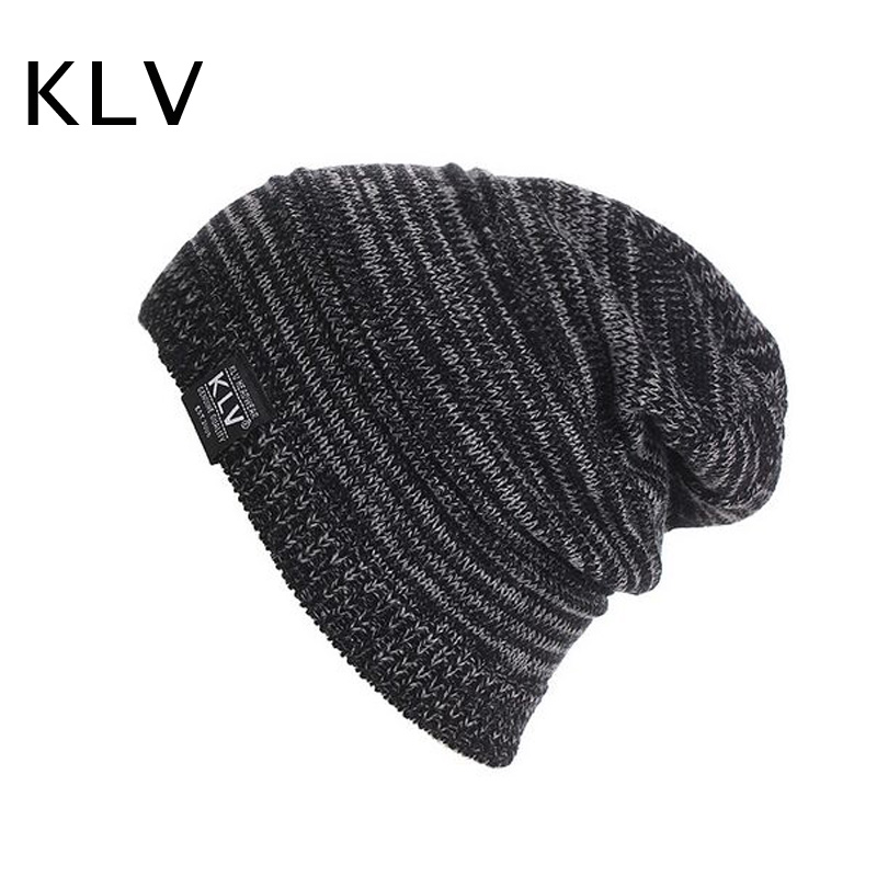 2017 Fashion Winter Outdoor Warm Hat for Men and Women Blending Striped Beanies Hats Knitting  Hip Hop Hedging  Gorros Cap fashion autumn and winter knitting wool hat men and women winter cap lovely hair ball beanies bone gorros accessory colorful new