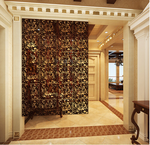 Merveilleux Simple Hanging Fashion Partition Curtain Wall Stickers Household Cutout Screen  Door Film Grilles