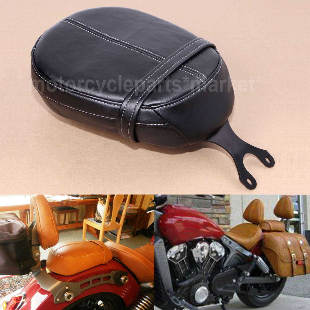 Brown Driver Backrest Support W// Pad For Indian Scout 2015-18 Scout Sixty 16-18