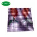 5X Wholesale P10 fiber board plate APA102 RGB full color 784 pixels matrix LED screen express free shipping