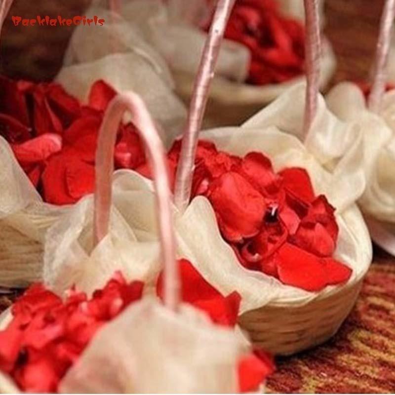 2018 Maphia Rose Petals 5000pcs BULK Silk Colors Fabric Loose Pink Artificial Wedding En ...