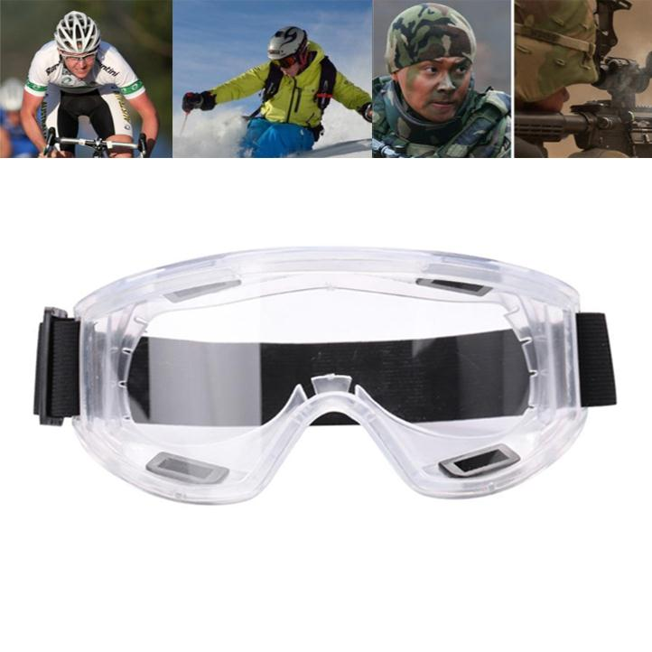 Детская безопасность защитные очки Анти-туман Ветрозащитный Анти пыли прозрачный лыжи Очки рабочих Очки