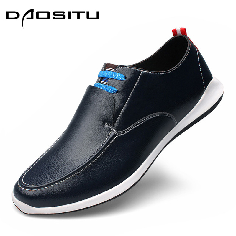 2018Men Loafers Genuine Leather Casual Shoes Men Flats Oxford Shoes for Men Driving Shoes Zapatos Hombre Big Size 38-47