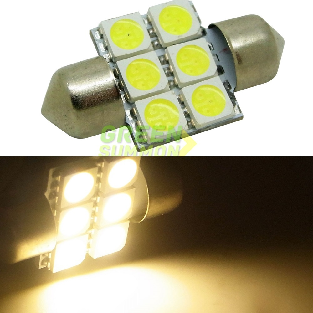 Projecteur Led Extérieur 50w High Power Eclairage Blanc 24vdc ᗑ10 Pcs Lot 31mm 6 5050 Smd Led Blanc Chaud Et Blanc Feston Dôme