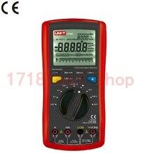 Оригинальный UNI-T UT70A цифровой мультиметр частота проводимости логика тест транзистор температура мультиметр аналоговый дисплей