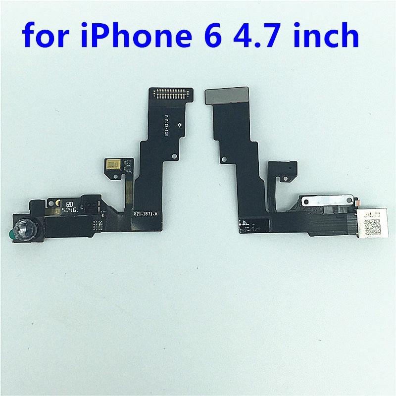 5pcs/lot New Front Camera For iPhone 6 Small Front Camera Lens Proximity Light Sensor Flex Cable