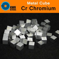Cr Chromium Chrome Cube Bulk Block High Pure 99 94 10x10x10mm Square Cut 7 2g Metal