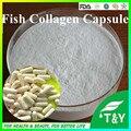 Высокое качество органические рыбьего коллагена порошок/лососевых рыб коллаген Капсулы 500 мг * 600 шт.