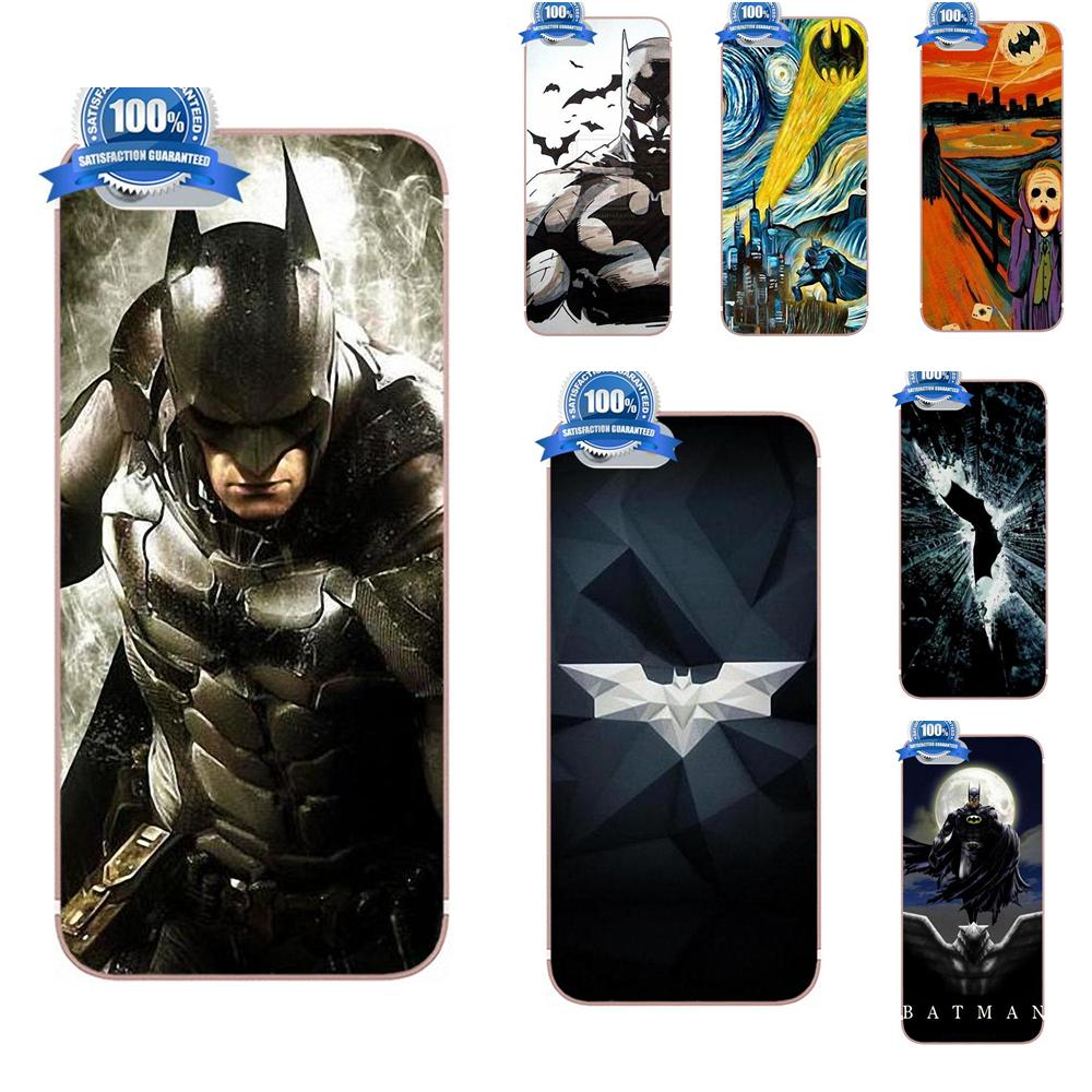 Oedmeb Starry Night Superhero Batman Dark Knight For Xiaomi Redmi 5 4A 3 3S Pro Mi4 Mi4i Mi5 Mi5S Mi Max Mix 2 Note 3 4 Plus