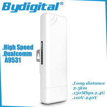 High speed wifi bridge CPE 150Mbps 2.4G wi-fi ethernet 15Dbi wireless Long range Outdoor AP access point 1-2km