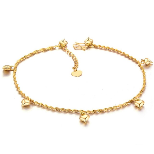 bracelet anklets or ankle and gold anklet bracelets plumeria inch heavenlytreasuresjewelry