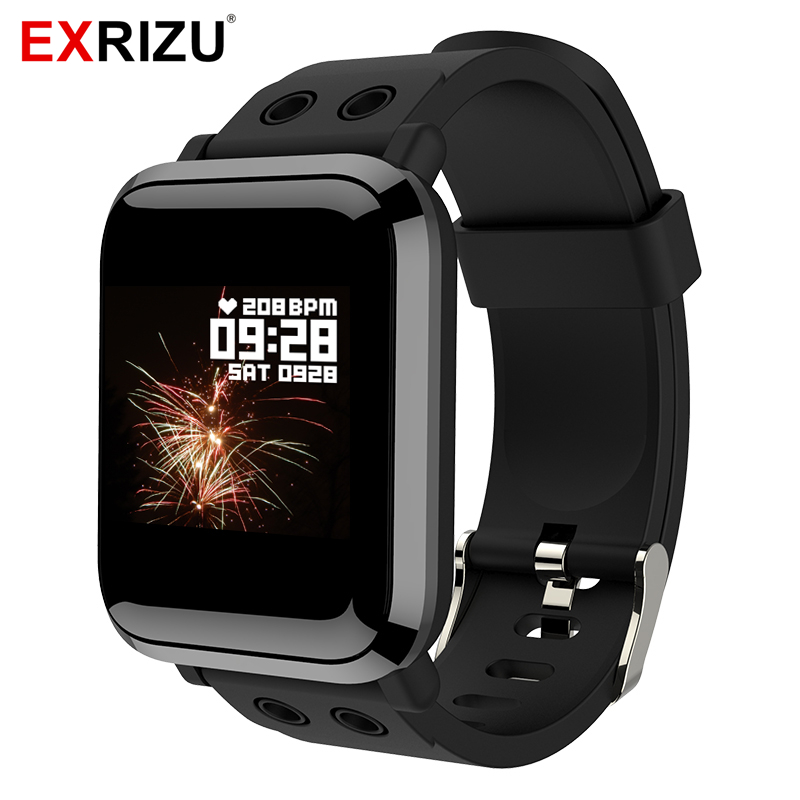 EXRIZU <font><b>G10</b></font> Bluetooth Smart <font><b>Watch</b></font> Support Heart Rate Monitor Pedometer Stopwatch Multiple Dials Fashion Smartwatch APP for Phone image