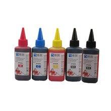 500 мл универсальный пополнения чернил комплект для epson принтер чернилами танк все модели 4 color снпч картридж каждая бутылка 100 мл
