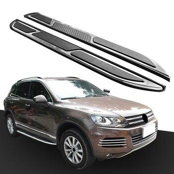 Marchepied latéral de barre de Nerf de plate-forme pour le marchepied de VW Volkswagen Touareg 2011-2018