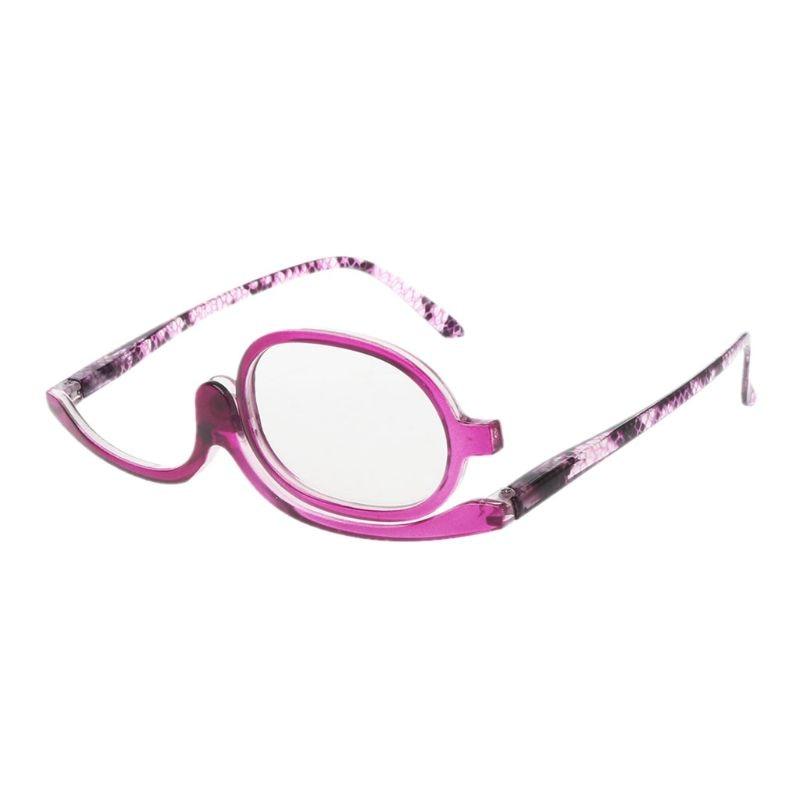 1 Pc Di Trucco Delle Donne Di Occhiali Da Lettura Di Vibrazione Rotativo Make Up Degli Occhi Di Occhiali Da Presbite + 1.00 A + 4.0