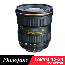 Tokina 12-28mm f/4.0 AT-X Pro DX 12-28 Lens for Nikon Wide angle D3200 D3300 D3400 D5200 D5300 D5500 D5600 D7100 D7200 D500