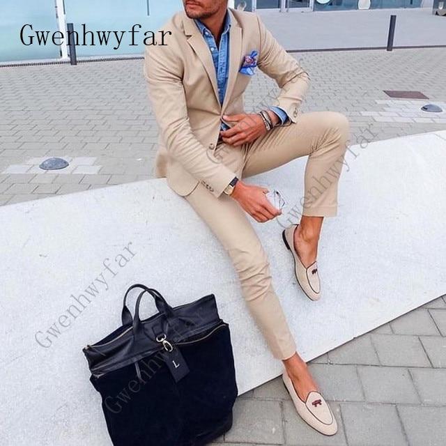 New-Fashion-2-Pieces-Khaki-Slim-Fit-Mens-Suits-Jacket-Pants-Groom-Tuxedos-Groomsman-Best-Man.jpg_640x640