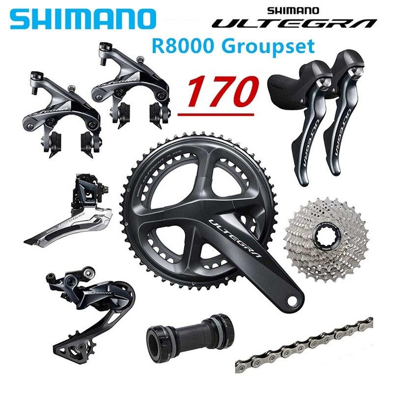 Shimano Ultegra R8000 50 34 52 36 53 39T 170 172 5MM 2 11 22 Speed