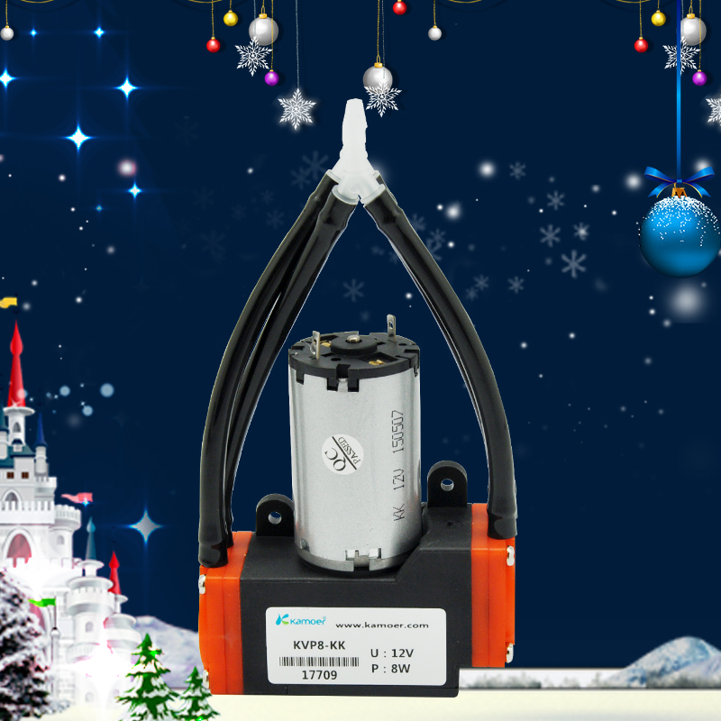 Kamoer KVP8 12 В/24 В DC вакуумный насос с щеткой/безщеточный, бесплатная доставка