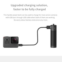 FeiyuTech Handle Power Bank with Two 1/4 Inch Screw Ports for G6 G5 G6 plus WG2 SPG G5GS Vimble 2 Gimbal Gopro hero 6 7 Charge