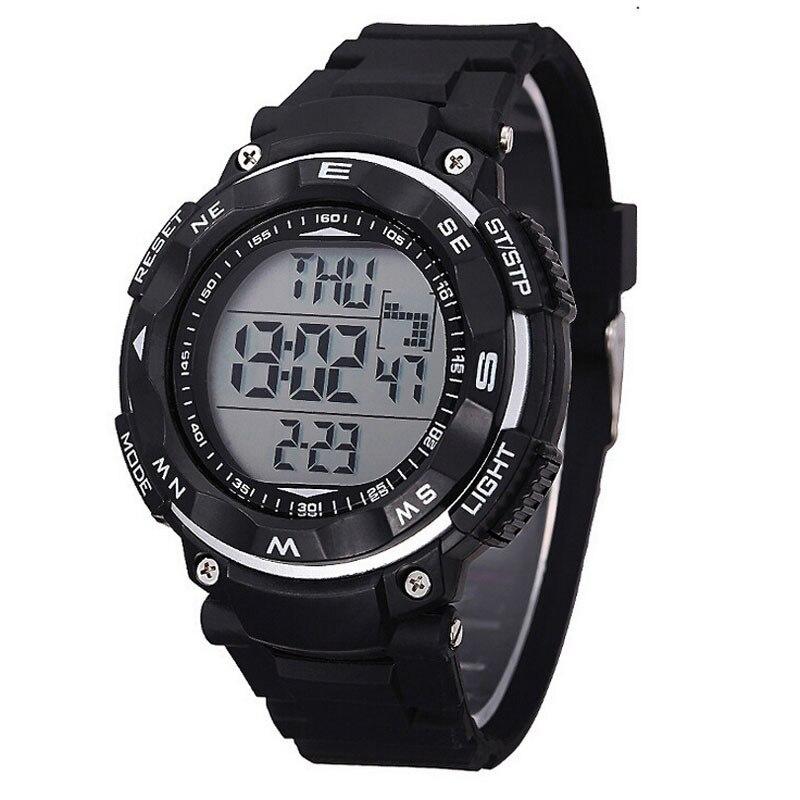 men Watch 2018 great sale male unique New Waterproof Digital LED Quartz Alarm Date Sports Wrist Watch Black relogio clock 170417 цена и фото